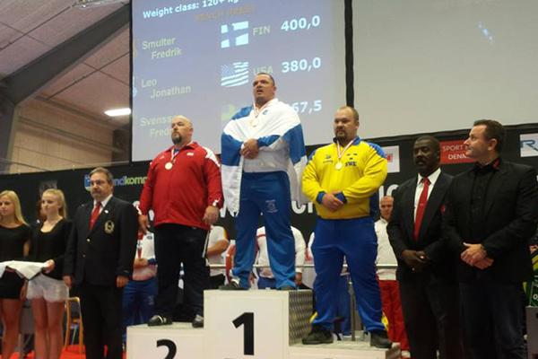 Fredrik Smulter tilldelades för andra gången bragdmedaljen